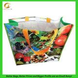 Sac à provisions en plastique fait sur commande, avec l'impression 4-Color-Process (14061601)