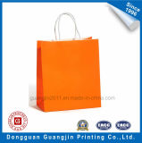 Color Purple Printed Paper Main Shopping Bag