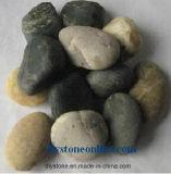 Pedra misturada da decoração para o jardim