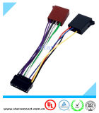 De universele Kabel van de Schakelaar van de Adapter van de Uitrusting van de Draad van ISO Radio Vrouwelijke voor het StereoSysteem van de Auto