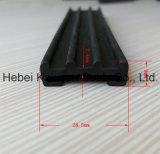 Tira de guarnição da tira de guarnição do PVC da porta da garagem/da borda porta deslizante