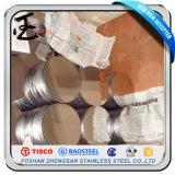 Cerchio laminato a freddo Ddq dell'acciaio inossidabile del grado 201
