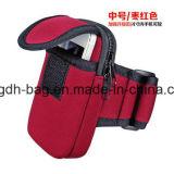 Caja material /Bag del teléfono del brazo de la marca de fábrica del neopreno