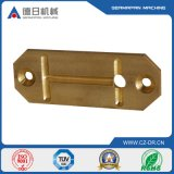 Alloy di rame Plate Precision Casting per Metal Machinery Accessories