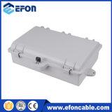 Coffret de l'extrémité 24fiber extérieur du matériel FTTH de PC/ABS/Caja Fibra Optica 24salidas