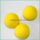 Pratique en matière d'intérieur d'EVA de mousse de golf d'éponge jaune de billes