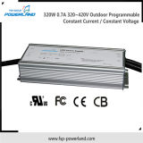 320W 0,7A 320 ~ 420V extérieure programmable CCCV LED Driver
