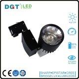 3 ans lumière blanche/noire Tracklight de garantie du boîtier 30W Dimmable de l'ÉPI DEL de piste