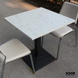 Kfc (161021)のための最上質のファースト・フードのレストランの大理石のダイニングテーブル