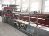 Mangueira ondulada mecânica do metal que faz a máquina