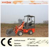Le CE de marque d'Everun approuvé a articulé le mini chargeur de roue de 0.8 tonne