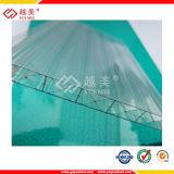 Het transparante Gekleurde Holle Blad van het Polycarbonaat van de tweeling-Muur (ym-PC-265)