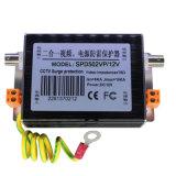 Dispositifs visuels de protection contre la foudre d'alimentation de l'énergie 12V de télévision en circuit fermé (SPD502VP/12V)