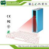 Teclado sin hilos de la proyección de Bluetooth del teclado portable del laser