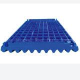 Kiefer-Zerkleinerungsmaschine-Platten-Abnützung-Platte für Bergwerksausrüstung