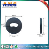Étiquette de disque d'IDENTIFICATION RF de résistance thermique/tag RFID passif en plastique personnalisé
