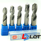 Сверло карбида вольфрама твердое для HRC55 степени DIN 338 345 351