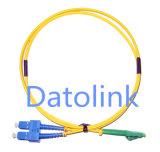 Шнур заплаты LC/APC-Sc/Upc Sm OS2 9/125 симплексный