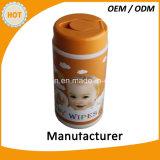 赤ん坊のOEM ODMが付いているぬれたワイプの工場