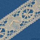 laço do bordado 3D/laço de Trochon/laço do algodão Lace/Tc
