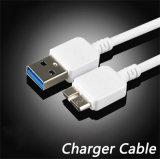 Ursprüngliche Synchronisierung und laden 1m TPErundes USB-Aufladeeinheits-Kabel für Samsung-Anmerkung 3 auf (XSSJ-002)