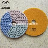 Wd-6 유연한 닦는 패드 3c 다이아몬드 돌 패드