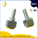 Dkosロシアの標準20511のOリングのメートル女性24円錐形H.T.の油圧付属品