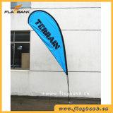 bandeira personalizada alumínio do Teardrop da impressão do Tradeshow de 2.8m/bandeira do vôo