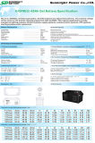 SBB 12V65ah Solar Power Gel Deep Cycle Battery met Ce UL