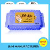Tecido limpo não tecido gravado do bebê de Mosit (BW022)