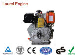 Air-Cooled単一シリンダーディーゼルかガソリンまたはガス燃料エンジンポンプ