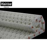 (Har2520) Correia transportadora modular plástica da transmissão nivelada do alimento da grade