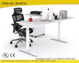 """Colocar el """" acero 49 ajustable se incorporan para levantarse el escritorio"""