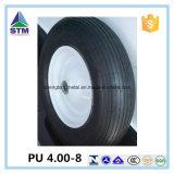 Roda do carrinho de mão de roda do plutônio da qualidade superior 4.00-8