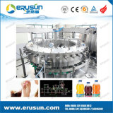 Máquina de enchimento carbonatada da bebida do frasco de vidro suficiência fria