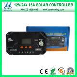Grid Solar Charge Controller (QWP-VS1524U) 떨어져 12V/24V 15A PWM Smart