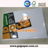 Papier bon marché de photocopie de Docucopy 80GSM des prix en emballage de carton