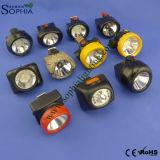 새로운 3W 크리 사람 LED IP68 광업 모자 램프 보장 3 년