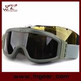 Óculos de proteção militares táticos para óculos de proteção de segurança do tiro da caça de Paintball