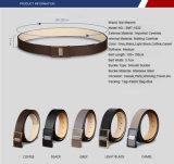 Schwarzes und Brownlederne Pin-Faltenbildung-Riemen-Mann-umschaltbarer lederner Riemen