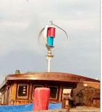 Turbine de vent à la maison de l'utilisation 300W et système hybride de panneau solaire