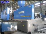 máquina plástica horizontal da modelação por injeção 528tons