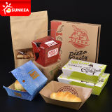 Salat-Sushi-Burger-Nudel-Sandwich-Kuchen-Feinkostgeschäft-Papierverpacken