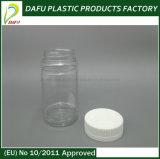 botella del plástico del animal doméstico del cilindro 170ml