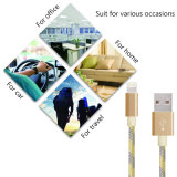 USB 케이블 비용을 부과 케이블에 나일론 땋는 8개의 Pin 번개