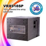 Ligne active système de son de Vrx918sp d'alignement
