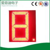 Panneau d'affichage des prix de segment de la couleur rouge DEL 7