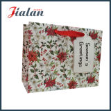 Merry Christmas Holiday Design Gift Package Saco de roupa de papel barato