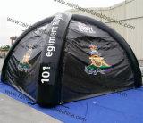 良質の立方黒PVC防水膨脹可能な密封された空気テント