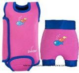 Tecido reusável do bebê da nadada, Wetsuit morno, Swimsuit da flutuabilidade. Wm022
